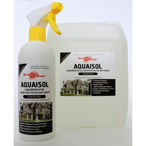Водоотталкивающая пропитка для камня AQUAISOL (гидрофобизатор)